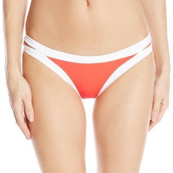 9393aa294db Seafolly Swim | Sea Folly Block Party Brazilian Bikini Bottom Us 2 ...